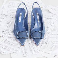 c6aa2402095 Eleven pipers piping  Dolores  ManoloBlahnik""