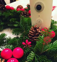 "Looks like Piper user @willikista is armed and ready for the holidays!  #Repost: ""Only 3 days til #Christmas. This is not a drill! @get_piper is on Grinch lookout. (We may even spot #Santa this year). . . . #Piper #patrol #safe #secure #home #holiday #surveillance #decor #wreath #Grinch"
