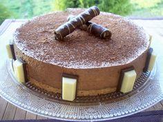 Una pincelada en la cocina: tarta mousse de chocolate con café