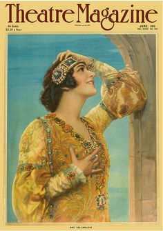Lina Cavalieri (1874-1944) was often referred to as the most beautiful woman alive.