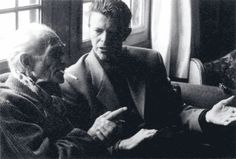 Balthus and David Bowie