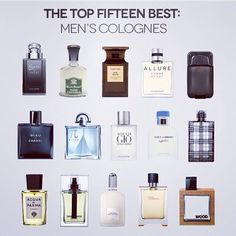 The Top 15 Best Men's Cologne For 2013 MEN'S ESSENTIALS: Top 15 Best Men's Cologne. Colognes are an essential grooming accessory for men. Science agrees, certain scents have been proven to set in motion past memories, which can actually be a significant Best Perfume For Men, Best Fragrance For Men, Best Fragrances, Mens Perfume, Top 10 Men Perfume, Perfumes For Men, Gq Style, Men Style Tips, 1920s Style