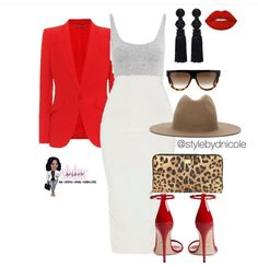 Ni'Cole inspired look. Pencil skirt & blazer look. Not the hat tho Fashion Line, Love Fashion, Trendy Fashion, Fashion Looks, Womens Fashion, Blazer Outfits, Chic Outfits, Fashion Outfits, Date Night Fashion