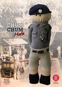 Sock Doll CHUM CHUM -- Mata by Memoriker on Etsy