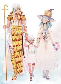Sharkaan, Yamuraiha and their child