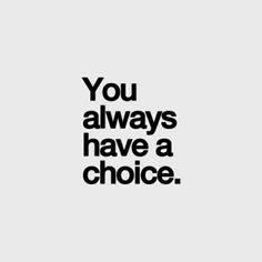 You always have a choice! Sign up for the Skinny Ms. newsletter and never miss out on fitness tips or healthy recipes from Skinny Ms. #cleaneating #fitness