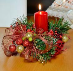 Vánoční svícen Romana