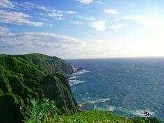 Kannonnzaki View Point in Teuri Island, Hokkaido