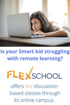FlexSchool offers live discussion-based classes in its signature virtual program.  Students stay engaged because learning is happening in real time with live teachers and classmates. Students, Classroom, Teacher, Clouds, Shit Happens, Learning, Live, School, Class Room