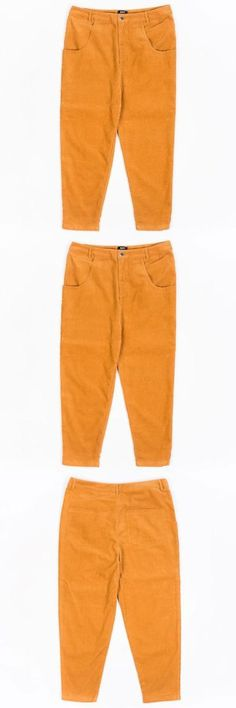 Jeans Pants and Shorts 166696: Bait Unisex Corduroy Tailored Pants Brown Camel -> BUY IT NOW ONLY: $110 on eBay!