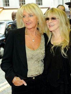 Christine McVie & Stevie Nicks, Sept. 2013