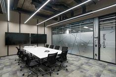 loft interior design Loft Interiors, Office Interiors, Align Technology, Loft Interior Design, Conference Room, Table, Furniture, Home Decor, Decoration Home