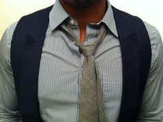 Tie/vest