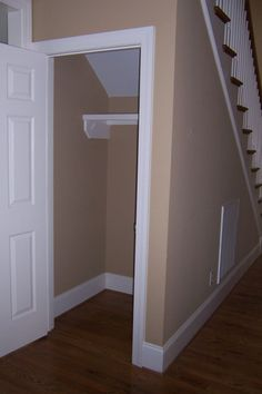 10 under-stair storage ideas that make your house look stunning 18 Understairs Understairs Storage House Ideas storage Stunning Understair Understairs Under Basement Stairs, Closet Under Stairs, Basement Closet, Under Stairs Cupboard, Basement Storage, Basement Bedrooms, Closet Bedroom, Closet Storage, Space Under Stairs