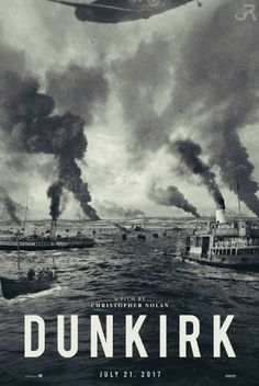 Dunkirk (2017) |  Action, Drama, History | Christopher Nolan Movie | Fan art