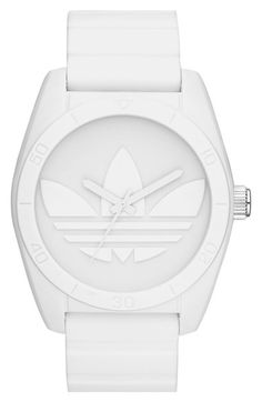 522c1e1b278f6 adidas Originals 'Santiago' Silicone Strap Watch, 42mm available at  #Nordstrom Adidas Watch