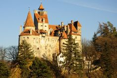 Durmstrang inspiration = Bran Castle, Romania - Wrong region, I know, but Nerida Vulchanova was Bulgarian so likely influenced by architecture in that area
