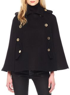 MICHAEL Michael Kors  Pea Coat Cape on shopstyle.com