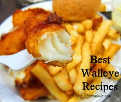 How to Cook Walleye – Crispy, Deep Fried Walleye Recipe More from my siteFried Catfish & Fried Walleye Recipe – Tech Food Life MagazineFish Recipes Pickerel Recipes, Walleye Fish Recipes, Fried Fish Recipes, Seafood Recipes, Best Fried Fish Recipe, Shellfish Recipes, Tilapia Recipes, Fish Recipes