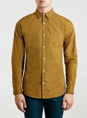 Selected Homme Brown Shirt