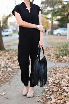 ONE little MOMMA: Holiday Trends- A Modest AND Nursing Friendly Jumpsuit