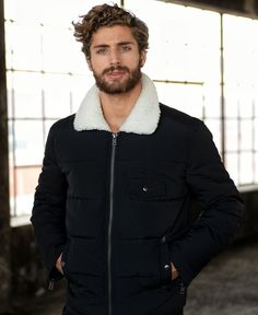 Thom Morell by Per Norberg Japan Winter Fashion, Winter Fashion Boots, Mustache Men, Moustache, Hair And Beard Styles, Curly Hair Styles, Curly Hair Men, Boy Hairstyles, Haircuts For Men