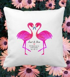 Personalised Couple Cushion Cover Wedding Anniversary Gift