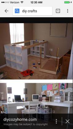 Craft desk diy