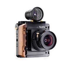 Alpa 12 STC camera with tilt-shift lens