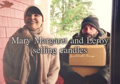 Mary Margaret and Leroy selling candles. - Just OUAT things