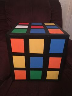 #RubiksCube #DIY #GensGlowback 1980s Party Decorations, Party Themes, Party Ideas, 80s Prom, Prom Decor, Neon Party, School Dances, 8th Birthday, Theme Ideas