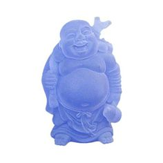 Feng Shui Home: the Many Faces of Buddha: Blue Traveler Buddha is Lighting Your Path with Wisdom and Abundance