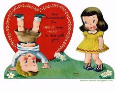 Here's a collection of 50 most strange, odd, perplexing and unintentionally funny vintage Valentine cards from Mitch O'Connell .            ...