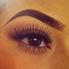 Eyes, Oci, Sminka, Make up, Eyebrows, Augenbrauen, Trepavice, Wimpern, Lashes, Brown, Braune Augen, Smedje Oci