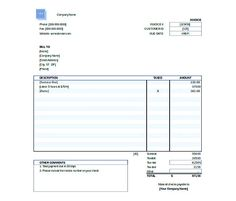 Invoice Template To Download Enchanting Typical Simple Sales Purchase Invoice  Blank Invoice Template Pdf .