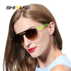 >> Click to Buy << One piece sun glasses new fashion  fancy mirrored sunglasses factory directly big frame sunglasses with package SH71003 #Affiliate