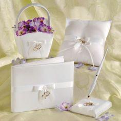 Sweetheart Wedding Ceremony Esemble Set 4pc