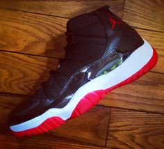 Air Jordan 11 'Bred' 2012. I owned these back in the day.