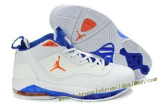 Jordan Melo M8 Carmelo Anthony Shoes White Blue Orange Jordans For Men 7abc634924e