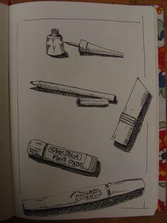 dibujo en tinta