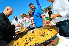 Barcelona Catering Barcelona, Paella, Catering, Ethnic Recipes, Food, Vegetarian, Boats, Events, Meal