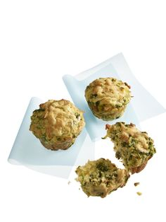 Cheddar, Zucchini, & Scallion savory muffins