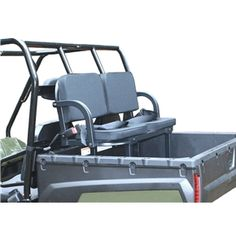 Great Day Deluxe Rumble Seat UTV Rear Passenger Seats UVDRS200BL