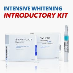 Power Swabs offer page Teeth Whitening System, Whitening Kit, Colgate Palmolive, Caring Company, Teeth Health, White Stain, Love My Family, Cosmetic Dentistry, Dental Care