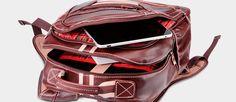 Mochila de couro legítimo para notebook Nordweg - Nordweg genuine leather backpack for laptop