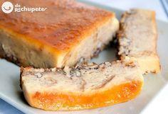 puddin de pan con nueces