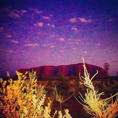 ''The best and most beautiful things in the world cannot be seen or even touched - they must be felt with the heart'' - Helen Keller. Thanks @luckymisslane for sharing this image of Uluru with us. #Uluru #UluruKataTjuta #Australia #nationalparks #nature #sky #naturelover #natureaddict #inspiration