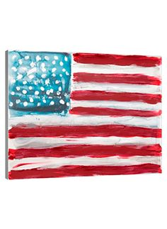 Let your patriotism fly with the American Flag Abstract canvas art by Lindsay Letters. Customize your home decor with eight framing options and quick shipping. Shop now at Lindsay Letters.