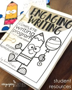 This writing program makes teaching writing in the primary grades so EASY and EFFECTIVE! The lessons are engaging, simple to implement and fun. They quickly help students build writing skills and confidence! Writing Strategies, Writing Lessons, Writing Resources, Writing Skills, Writing Activities, Writing Services, Writing Ideas, Writing Curriculum, Teaching Writing
