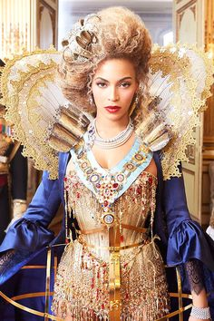 Queen B. Annie Leibovitz for Vogue #Beyonce #QueenBey #BeyBowl